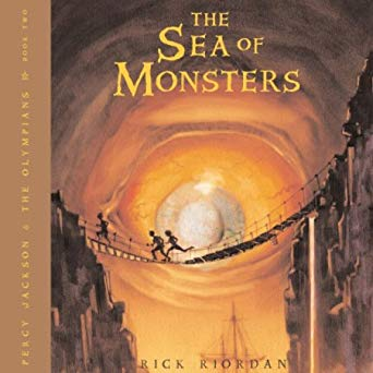Rick Riordan – The Sea of Monsters Audiobook