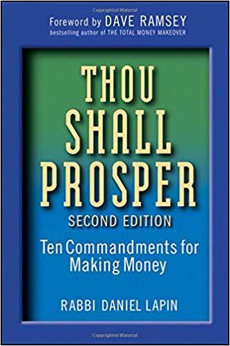 Rabbi Daniel Lapin – Thou Shall Prosper Audiobook