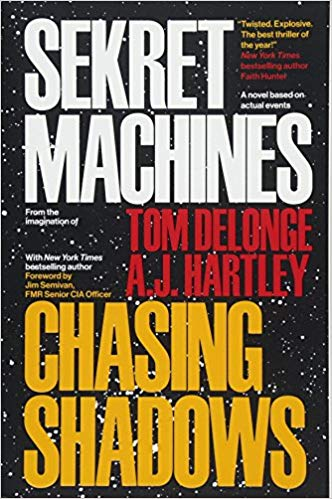 Tom DeLonge – Chasing Shadows: Sekret Machines Book Audiobook