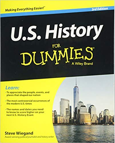 Steve Wiegand – U.S. History For Dummies Audiobook
