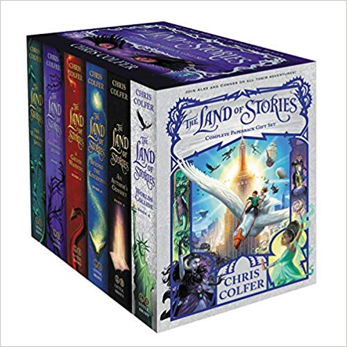 Chris Colfer – The Land of Stories Complete Audiobook