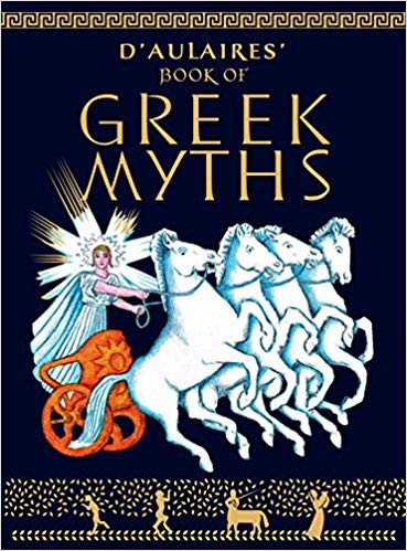 Ingri d'Aulaire – D'Aulaires' Book of Greek Myths Audiobook