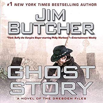 Jim Butcher – Ghost Story Audiobook